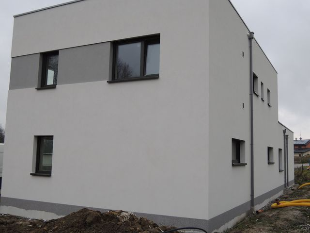 Obrázek 3 pro článek Zateplení fasády pasivní novostavby, Dolní Březany - Praha