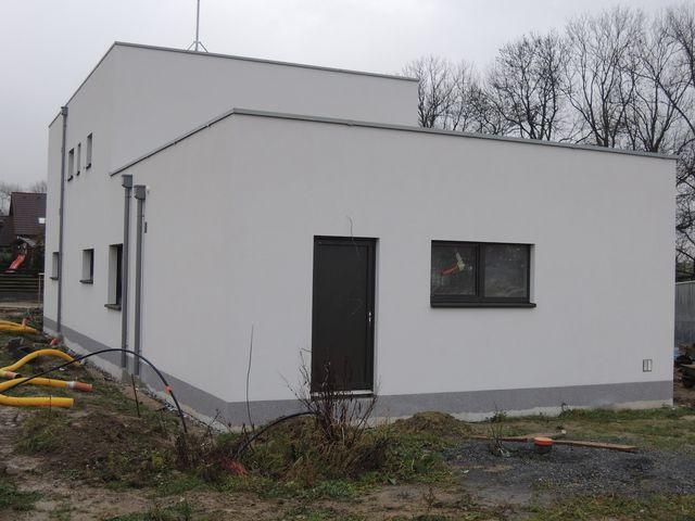 Obrázek 6 pro článek Zateplení fasády pasivní novostavby, Dolní Březany - Praha
