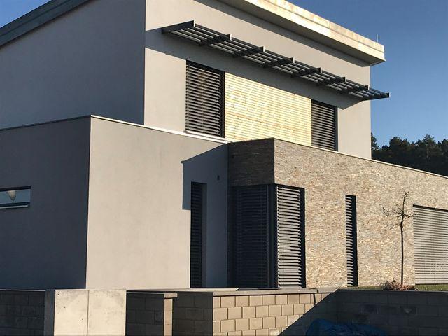 Obrázek 5 pro článek Zateplení fasády nízkoenergetické novostavby RD, Bradlec