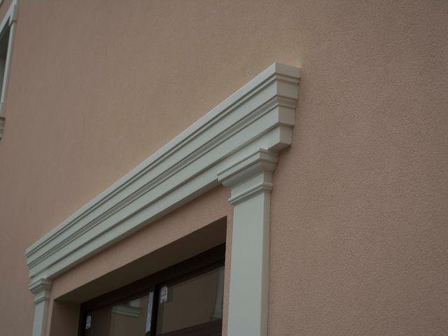 Obrázek 2 pro článek Dodatečné tvarové dekorativní prvky na fasádě