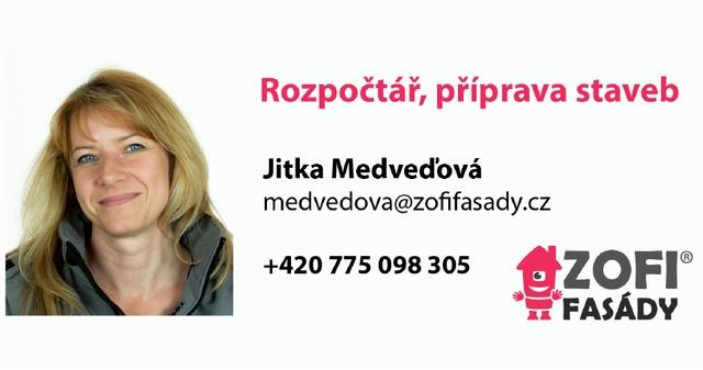 Obrázek 1 pro článek Jitka Medveďová Jitka Medveďová, nová posila do týmu ZOFI