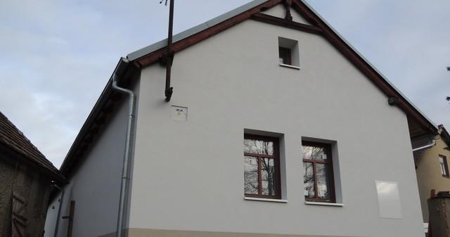 Zateplení starého domu, kamenné-cihelné zdivo, Přišimasy