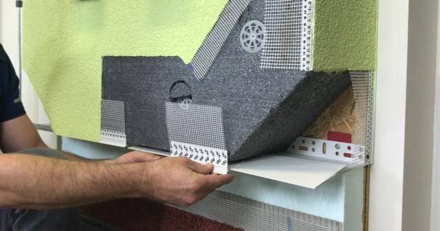 Obrázek 1 pro článek Založení zateplovacího systému s využitím PVC zakládací sady ETICS
