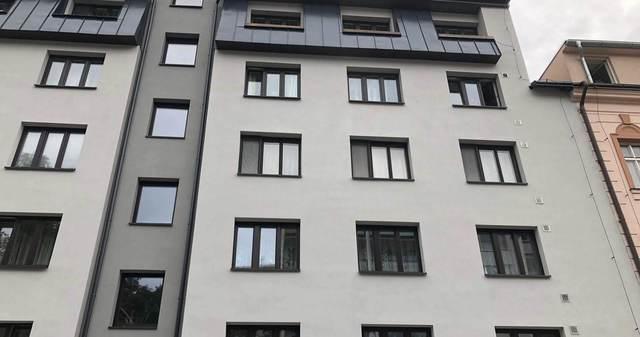 Obrázek 1 pro článek Report z realizace omítkového souvrství BD pomocí systému Ceresit a obnovy balkonů