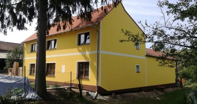 Zateplení fasády starého domu po rekonstrukci ORLOVICE