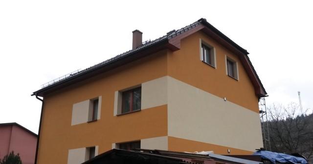Zateplení fasády rodinného domu FENOLICKOU PĚNOU | ROKYTNICE