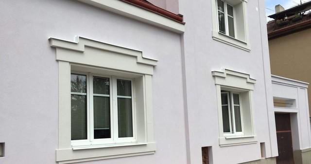 Obrázek 1 pro článek Zateplení fasády starého domu s dekorativními prvky