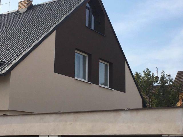 Obrázek 3 pro referenci Zateplení fasády RD šedým polystyrenem Kladno | STAVBA 181020