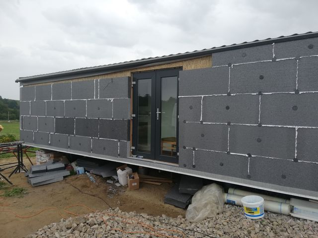 Obrázek 3 pro referenci Zateplení fasády RD šedým polystyrenem Bravantice | STAVBA 182023