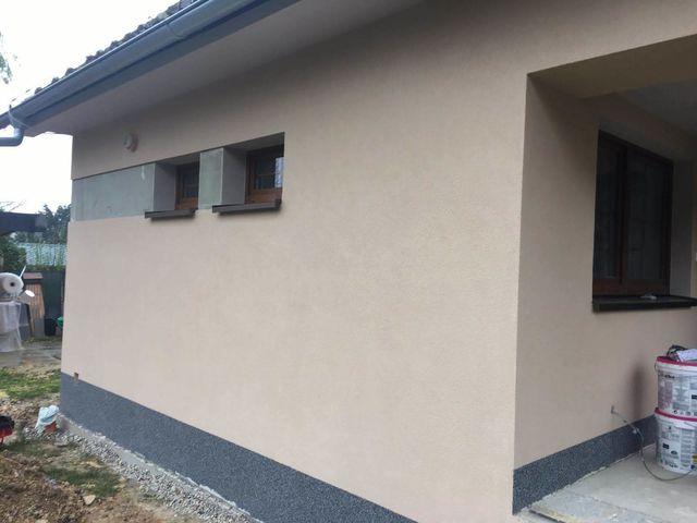 Obrázek 2 pro referenci Realizace fasády RD grafitovým polystyrenem Třtice   STAVBA 181031