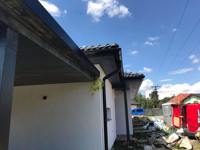 Obrázek 5 pro referenci Zateplení novostavby RD bílým fasádním polystyrenem Louňovice | STAVBA 181016