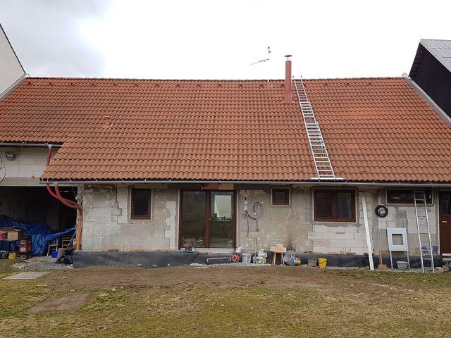 Obrázek 6 pro referenci Paropropustné zateplení fasády RD Miškovice | STAVBA 182015