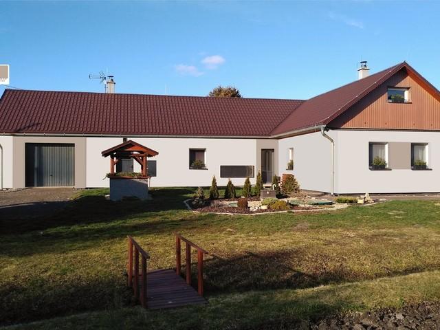 Obrázek 6 pro referenci Grafický návrh fasády rodinného domu v odstínech CERESIT.