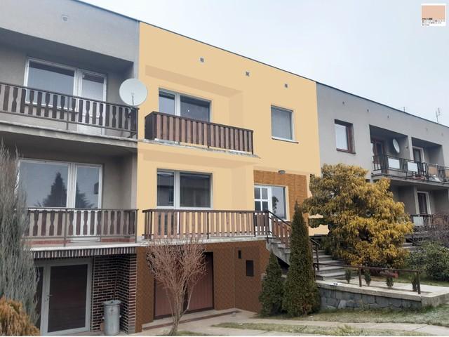 Obrázek 3 pro referenci Grafický návrh fasády řadového domu s kamenným obkladem