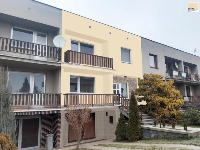 Obrázek 4 pro referenci Grafický návrh fasády řadového domu s kamenným obkladem