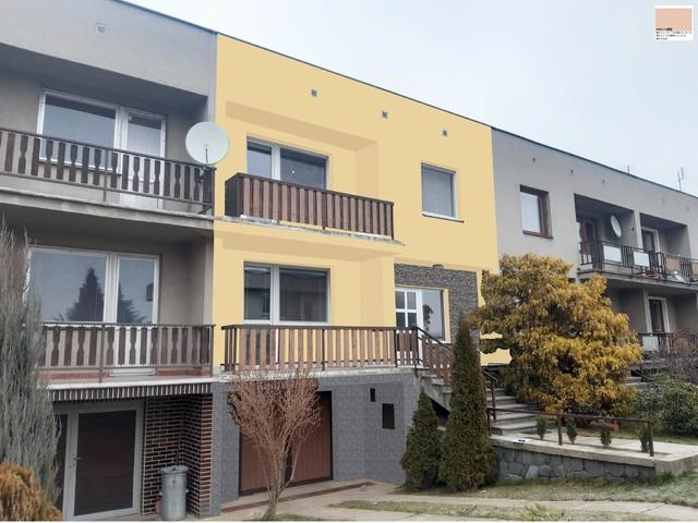Obrázek 5 pro referenci Grafický návrh fasády řadového domu s kamenným obkladem