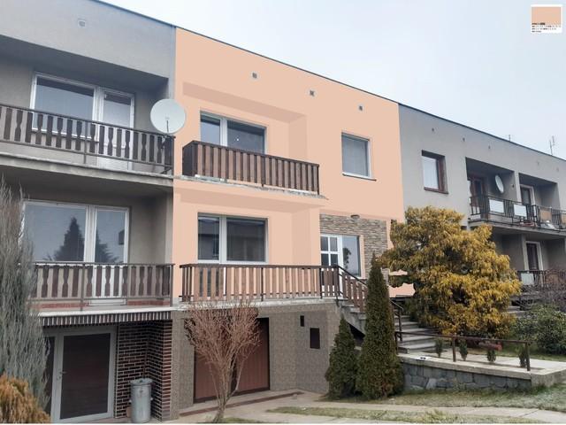 Obrázek 6 pro referenci Grafický návrh fasády řadového domu s kamenným obkladem