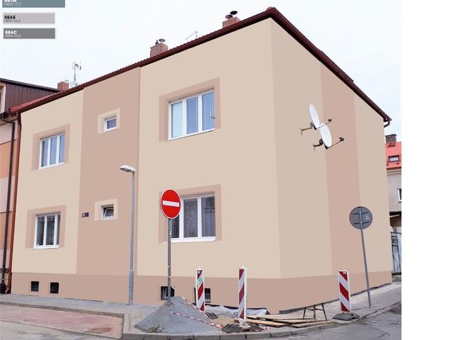 Obrázek 5 pro referenci Grafický návrh fasády bytového domu v odstínech BAUMIT