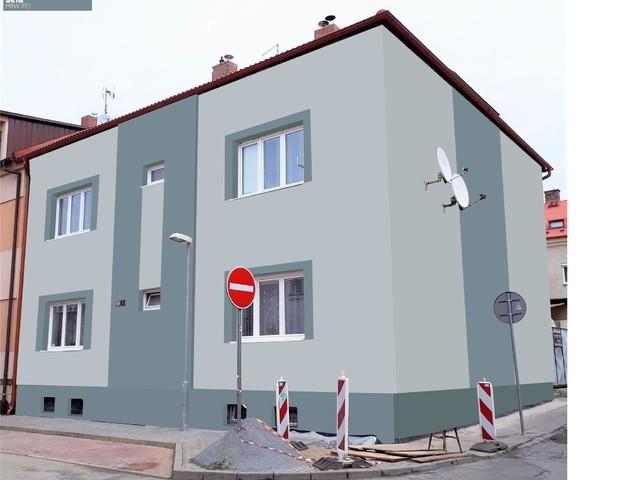 Obrázek 3 pro referenci Grafický návrh fasády bytového domu v odstínech BAUMIT
