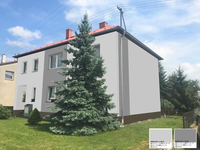 Obrázek 6 pro referenci Grafický návrh fasády staršího rodinného domu v odstínech CERESIT