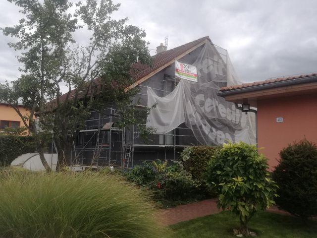 Obrázek 4 pro referenci Zateplení fasády RD šedým polystyrenem Rajhrad | STAVBA 182018