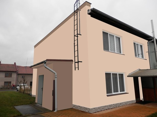 Obrázek 3 pro referenci Grafický návrh řadového rodinného domu v odstínech CERESIT