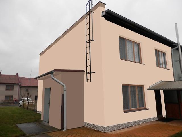 Obrázek 4 pro referenci Grafický návrh řadového rodinného domu v odstínech CERESIT