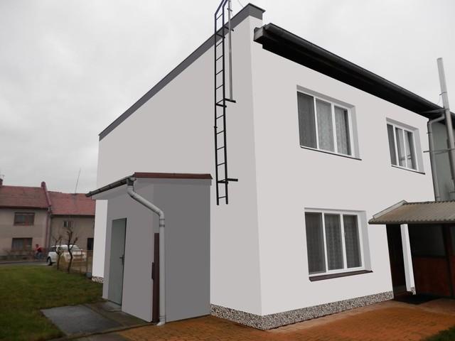Obrázek 5 pro referenci Grafický návrh řadového rodinného domu v odstínech CERESIT