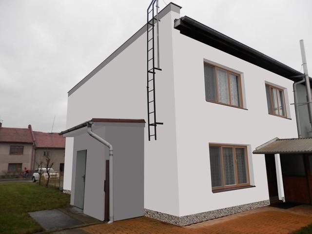 Obrázek 6 pro referenci Grafický návrh řadového rodinného domu v odstínech CERESIT