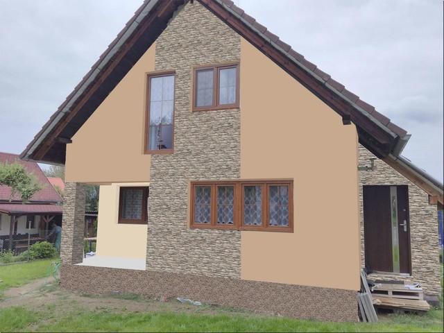 Obrázek 3 pro referenci Grafický návrh fasády RD s fasádním obkladovým kamenem STEGU