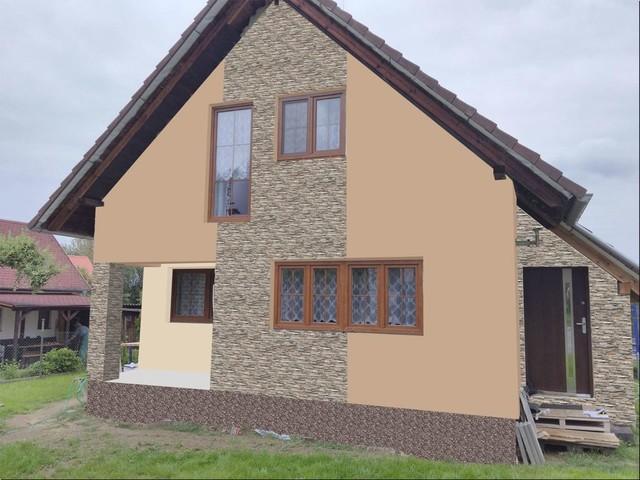 Obrázek 4 pro referenci Grafický návrh fasády RD s fasádním obkladovým kamenem STEGU