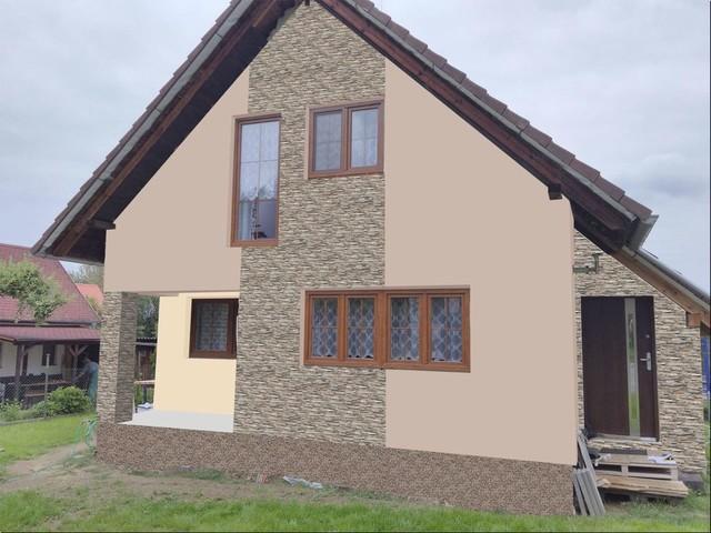 Obrázek 5 pro referenci Grafický návrh fasády RD s fasádním obkladovým kamenem STEGU