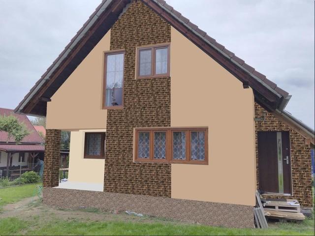 Obrázek 6 pro referenci Grafický návrh fasády RD s fasádním obkladovým kamenem STEGU