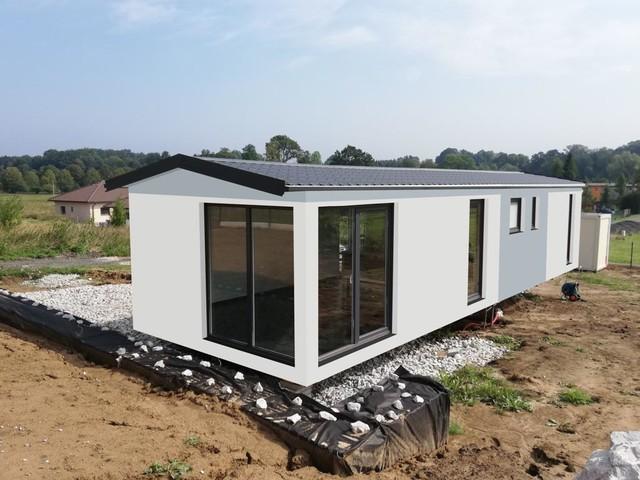 Obrázek 3 pro referenci Grafický návrh fasády dřevostavby v odstínech CERESIT