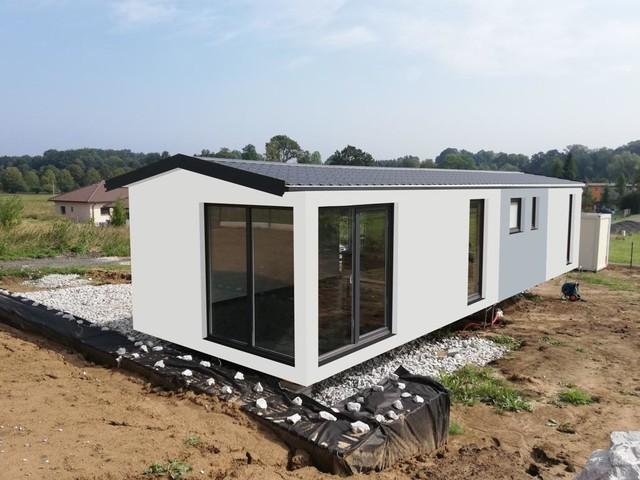 Obrázek 4 pro referenci Grafický návrh fasády dřevostavby v odstínech CERESIT