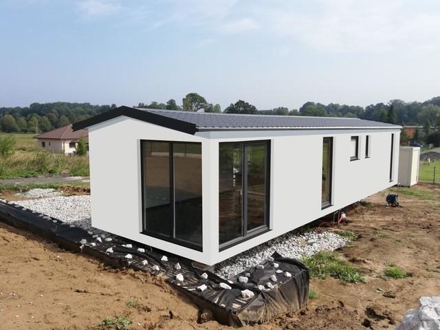 Obrázek 5 pro referenci Grafický návrh fasády dřevostavby v odstínech CERESIT