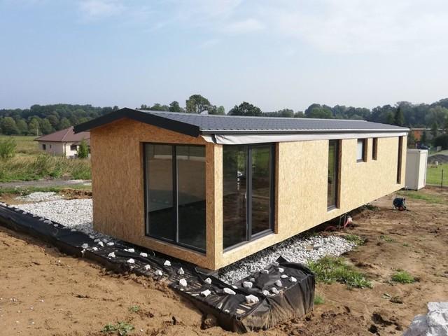 Obrázek 2 pro referenci Grafický návrh fasády dřevostavby v odstínech CERESIT