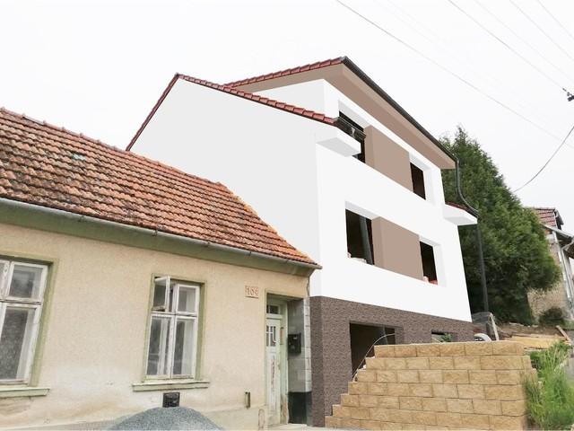 Obrázek 3 pro referenci Grafický návrh fasády hrubé stavby RD v odstínech CERESIT