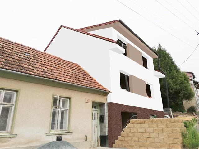 Obrázek 4 pro referenci Grafický návrh fasády hrubé stavby RD v odstínech CERESIT