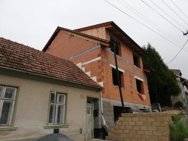 Obrázek 2 pro referenci Grafický návrh fasády hrubé stavby RD v odstínech CERESIT