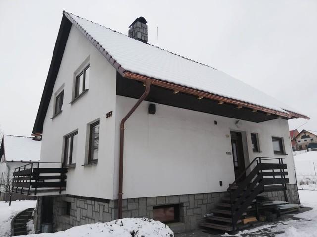 Obrázek 4 pro referenci Grafický návrh fasády rodinného domu v hnědém odstínu CERESIT