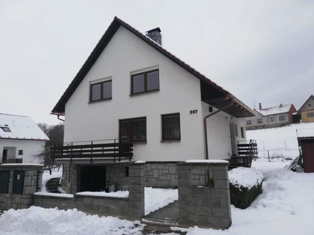 Obrázek 6 pro referenci Grafický návrh fasády rodinného domu v hnědém odstínu CERESIT