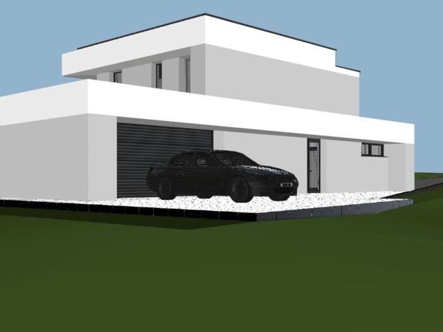 Obrázek 2 pro referenci Grafický návrh fasády novostavby RD do vizualizace