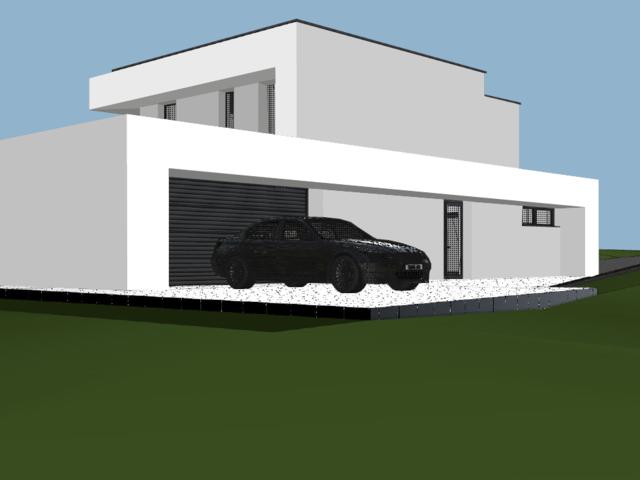 Obrázek 6 pro referenci Grafický návrh fasády novostavby RD do vizualizace