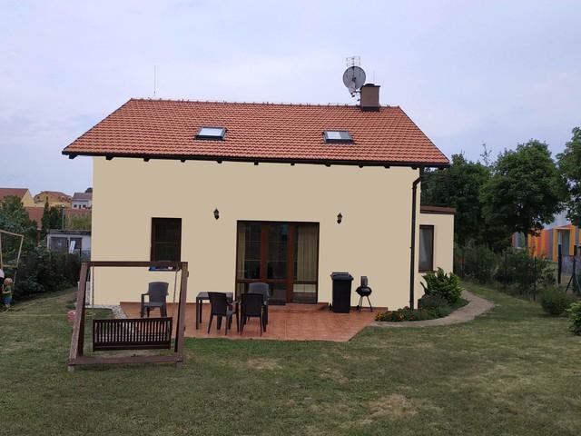 Obrázek 6 pro referenci Grafický návrh fasády rodinného domu v hnědých odstínech CERESIT
