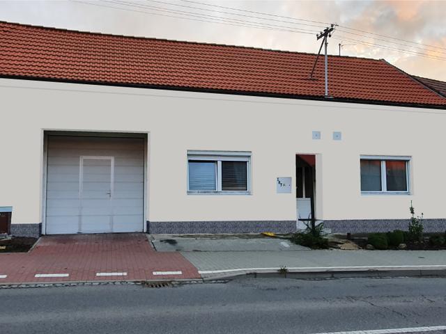 Obrázek 3 pro referenci Grafický návrh fasády RD s betonovým obkladem STEGU