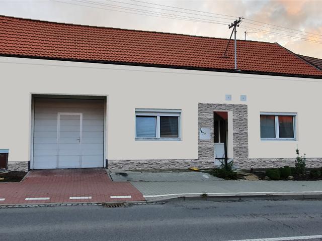 Obrázek 4 pro referenci Grafický návrh fasády RD s betonovým obkladem STEGU