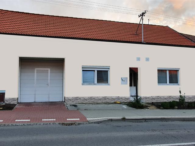 Obrázek 5 pro referenci Grafický návrh fasády RD s betonovým obkladem STEGU