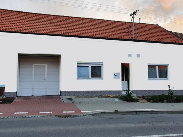 Obrázek 6 pro referenci Grafický návrh fasády RD s betonovým obkladem STEGU