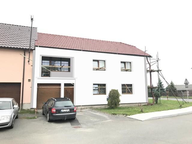 Obrázek 2 pro referenci Grafický návrh fasády RD před rekonstrukcí v odstínech CERESIT
